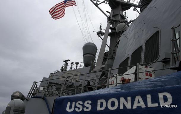 Эсминец США покинул Черное море