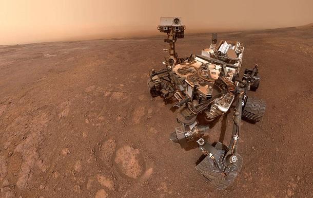 Марсоход Curiosity прислал новое  селфи
