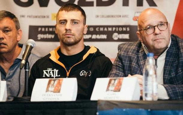 Защита Гвоздика станет главным боем вечера бокса Top Rank