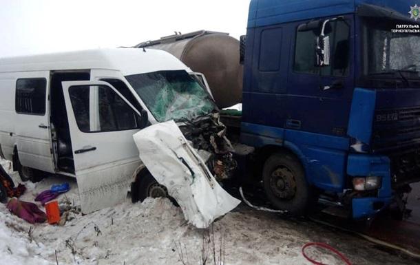 Лобовое ДТП в Тернопольской области: есть погибший