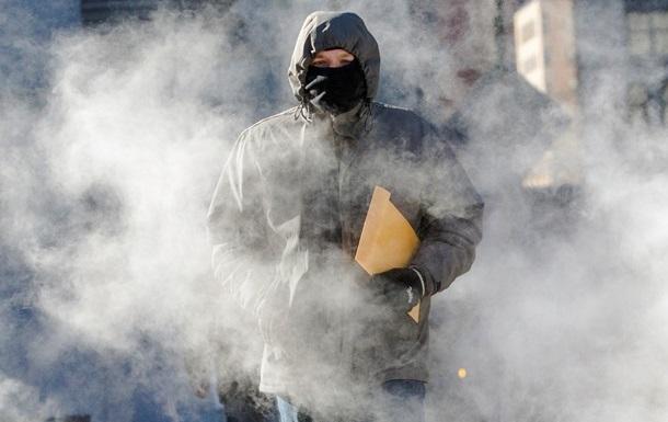 От аномальных морозов в США погибли 12 человек