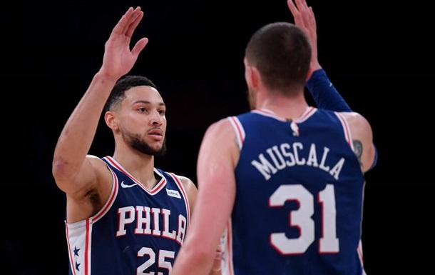 НБА: Филадельфия обыграла Голден Стейт