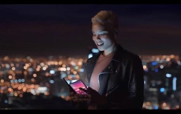 Вийшло офіційне відео з гнучким Samsung Galaxy F