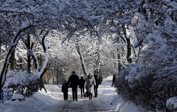 Несмотря на морозы, январь в Киеве был теплее нормы