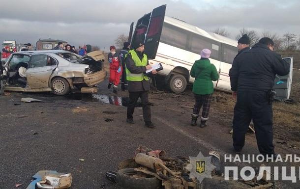 Смертельная авария в Одесской области