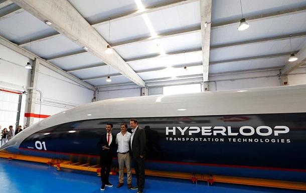 В Украине представили маршруты для Hyperloop