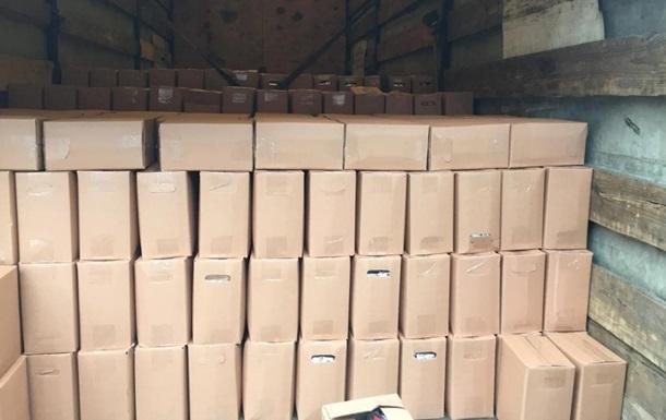 Силовики ООС изъяли контрафактного алкоголя на 28 миллионов