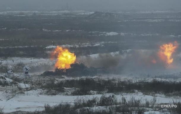 Тишину  в ООС нарушали запрещенные вооружения