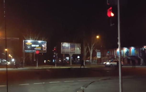 В Николаеве произошла массовая драка на дороге
