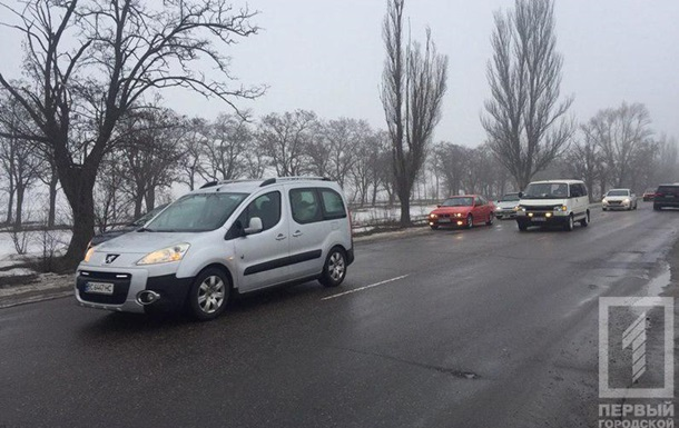 В Кривом Роге устроили автопробег в годовщину гибели Кузьмы Скрябина