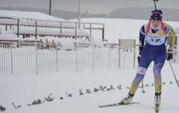 Українська біатлоністка виграла золото юнацького чемпіонату світу