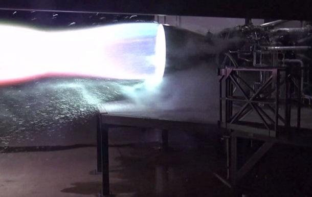 SpaceX испытала двигатель для корабля Starship