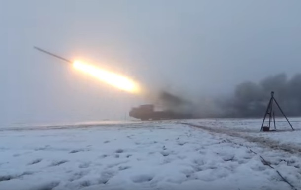 The military in the Donbas system proved Smerch