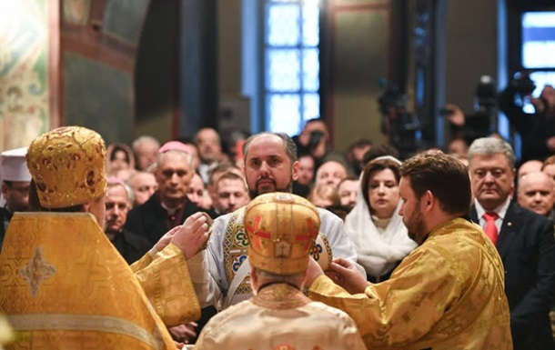 Интронизация Предстоятеля Православной Церкви Украины митрополита Епифания