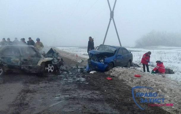 Под Марьинкой в ДТП погибли пять человек