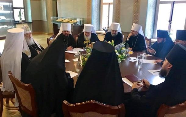 ПЦУ впервые собралась на Священный Синод