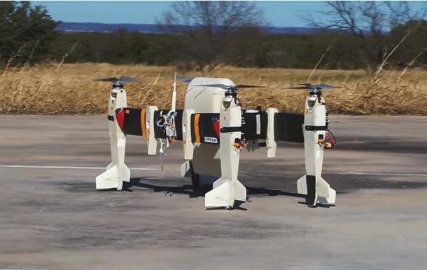 В США испытали первый в мире грузовой тейлситтер