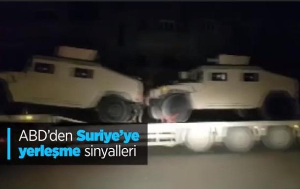 США перебросили военную технику в Сирию – СМИ