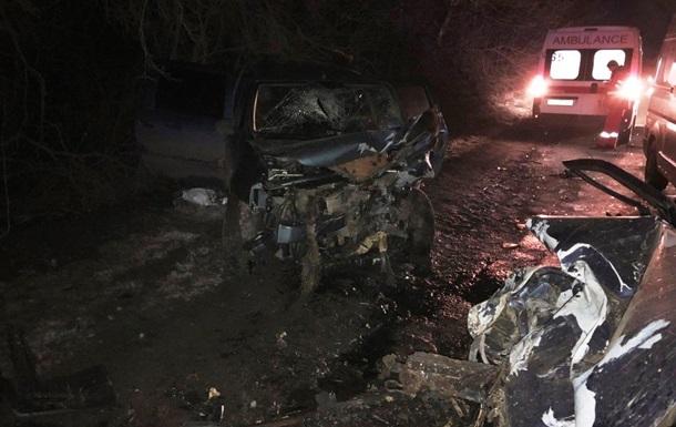 В Винницкой области столкнулись три авто: есть жертвы