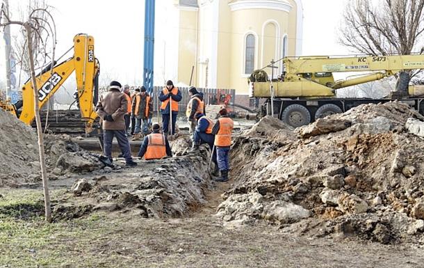 В Бердянске возобновили подачу воды