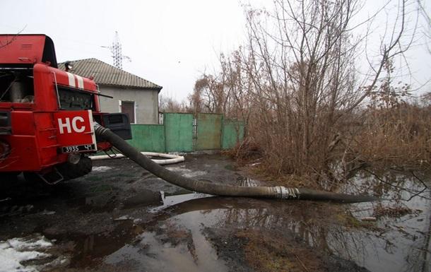 В Днепре затопило несколько улиц