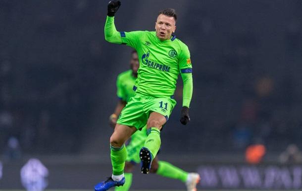 Коноплянка попал в заявку Шальке на плей-офф Лиги Чемпионов