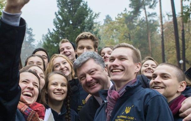Украинцы высказались о втором сроке президентства Петра Порошенко