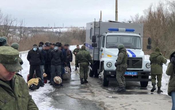 ЛНР  передала Украине 33 заключенных