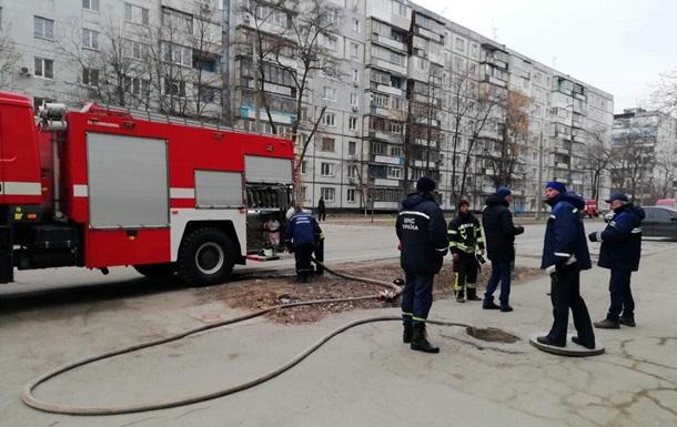 В Запорожье из задымленной школы эвакуировали 700 учеников