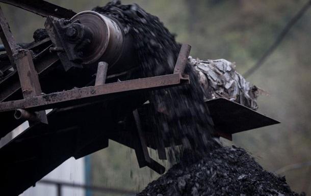 Добыча угля в Украине упала на 10% за год