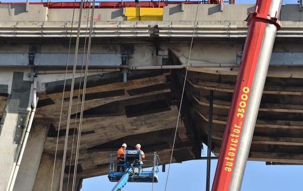 В Генуе сносят мост, на котором погибли 43 человека