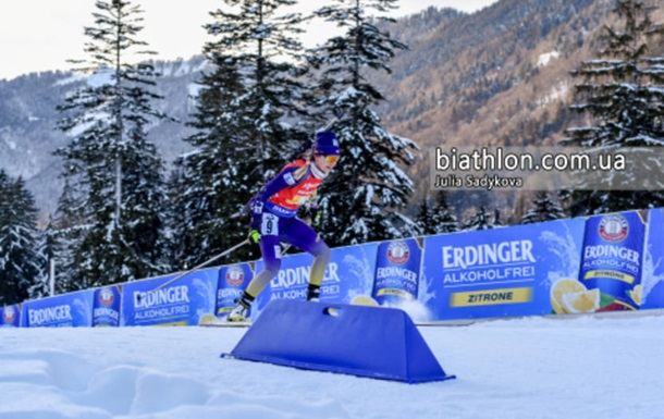 Украинские биатлонистки заняли 14 место в эстафете на этапе Кубка мира в Канаде