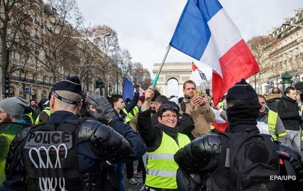 «Желтые жилеты» во Франции готовят новые акции