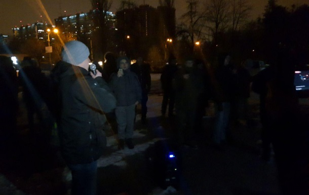 К дому Авакова приехали активисты