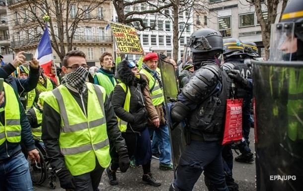 Протести в Парижі: 36 затриманих