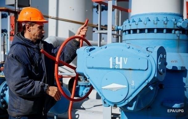 Украина сосени сократила запасы газа почти на40%