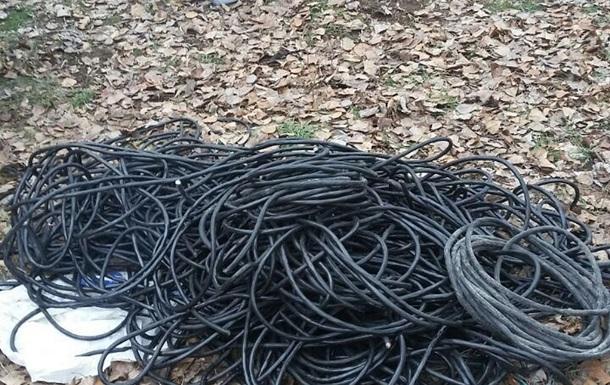 В Запорожье сотрудники СБУ воровали кабель