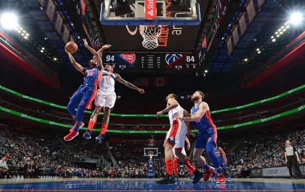 НБА: Детройт сильніший за Вашингтон, Нью-Йорк поступився Клівленду