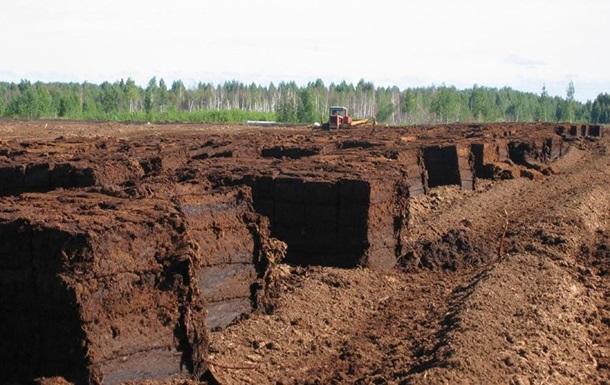 Екс-главу філії Житомирторф підозрюють в незаконному видобутку копалин