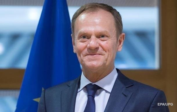 Глава Европейского совета Туск собрался в Украину