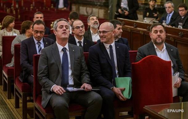В Іспанії почався суд над лідерами сепаратистів Каталонії