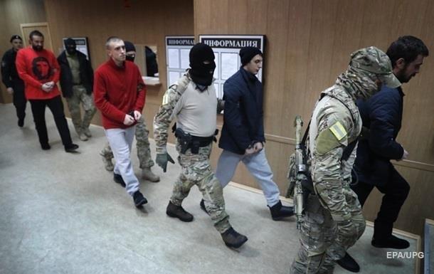 Суд в Москве продлил арест четырем украинским морякам