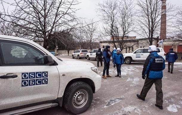 ОБСЄ нарахувала на Донбасі 400 вибухів за добу