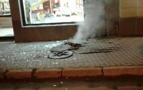 Во Львове произошел взрыв в канализации