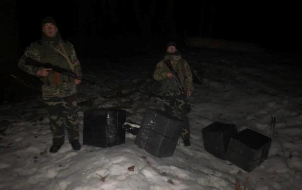 На Закарпатье контрабандисты бросили крупную партию сигарет