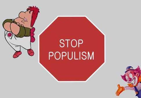 Рух на популізм