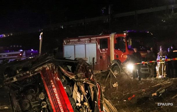 ДТП с автобусом в Северной Македонии: 13 погибших
