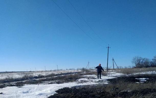 На Луганщині під обстріл потрапила бригада енергетиків
