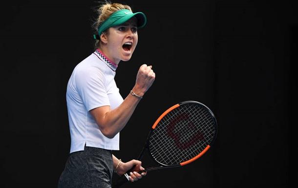 Свитолина впервые в карьере вышла в полуфинал турнира в Дохе