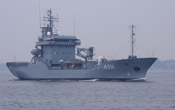 Корабль противоминной группы НАТО направляется в Черное море